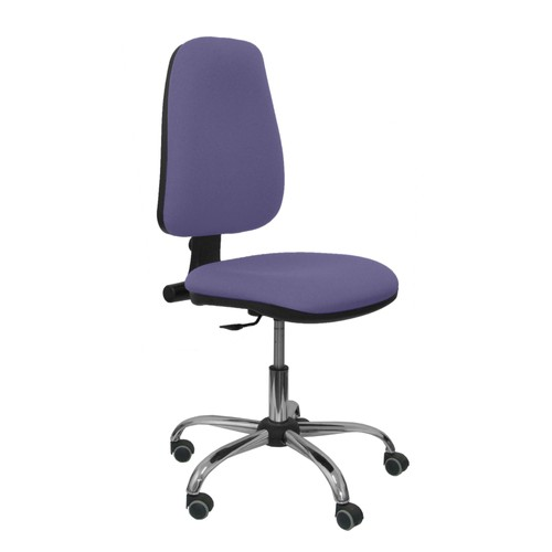 Chaise Bureau Ergonomique Dossier Tissu Bleu Clair Pas Cher Ou D