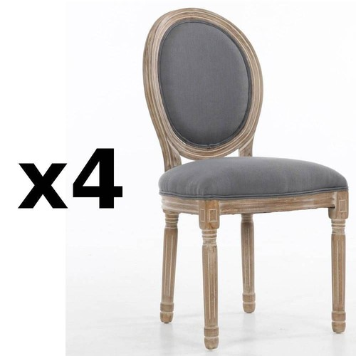 chaise style louis xvi occasion. Black Bedroom Furniture Sets. Home Design Ideas