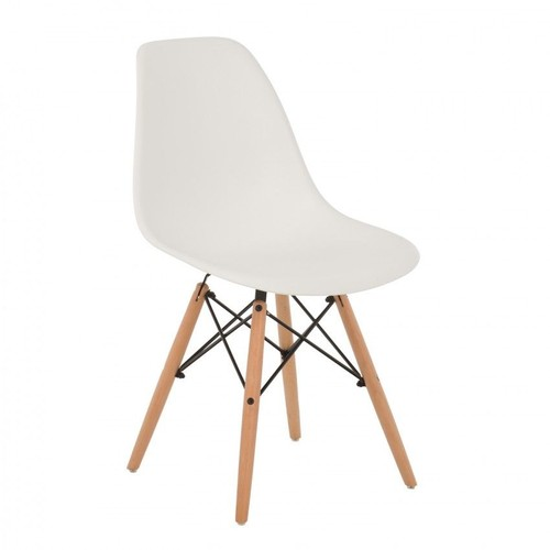 chaise scandinave blanc - Chaise Scandinave Pas Cher