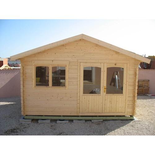 Chalet en bois achat vente de mobilier de jardin for Fabricant de chalet bois