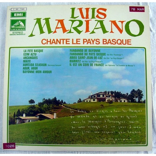 chanson basque