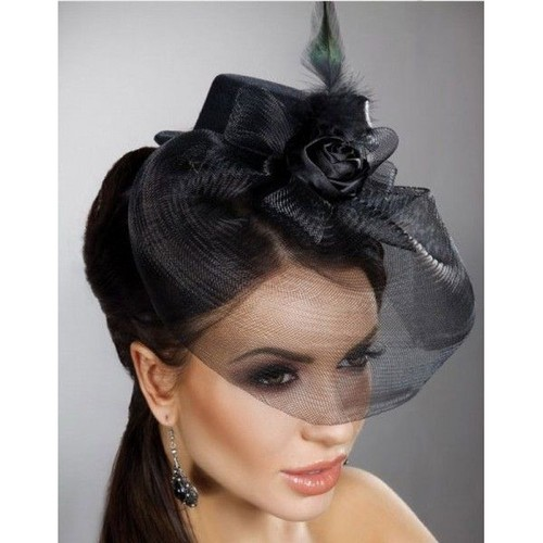 acheter chapeau voilette pas cher ou d 39 occasion sur priceminister. Black Bedroom Furniture Sets. Home Design Ideas