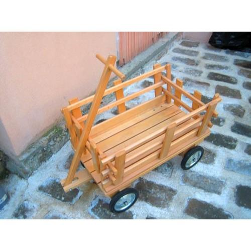 chariot en bois pour enfant neuf et d 39 occasion sur priceminister. Black Bedroom Furniture Sets. Home Design Ideas