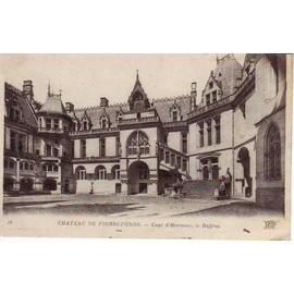 Chateau De Pierrefonds Cour D'honneur (1918)