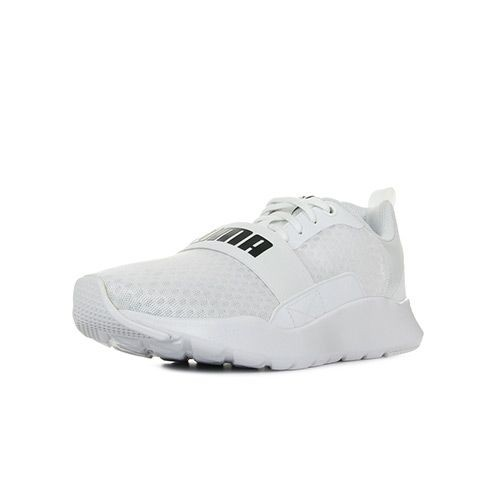 new style 60cf8 eea81 chaussure blanc baskets puma homme