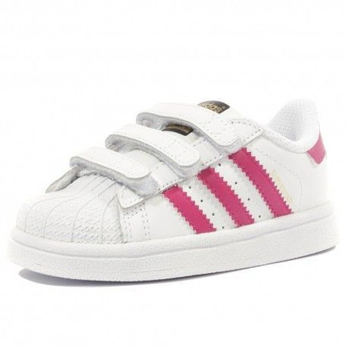 chaussure blanc fille adidas superstar pas