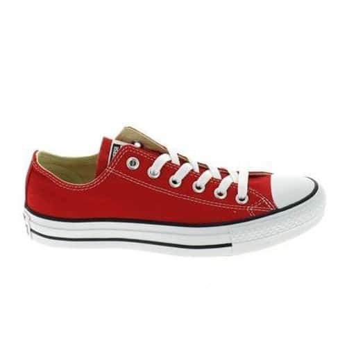 converse chaussure rouge