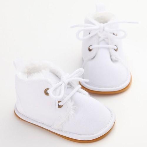 Tout Infant Bottes de neige Chaussures en caoutchouc Sole Prewalker chaussures Berceau 7FzR0joMi