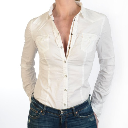 chemise femme en coton achat vente neuf d 39 occasion. Black Bedroom Furniture Sets. Home Design Ideas