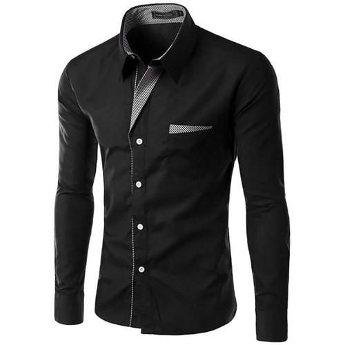 8ee1c33275144 chemise noire et blanche hommes pas cher ou d'occasion sur Rakuten