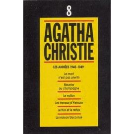 agatha christie tome 8 les ann es 1945 1949 la mort n 39 est pas une fin meurtre au champagne. Black Bedroom Furniture Sets. Home Design Ideas