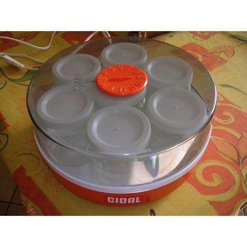 Cidal Yogurlac Yaourtiere 7 pots en verre pas cher