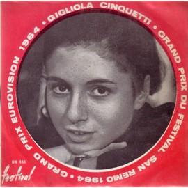 Grand Prix Eurovision Et San Remo 1964 - Non Ho L'eta Et Sei Un Bravo Ragazzo - Cinquetti,Gigliola