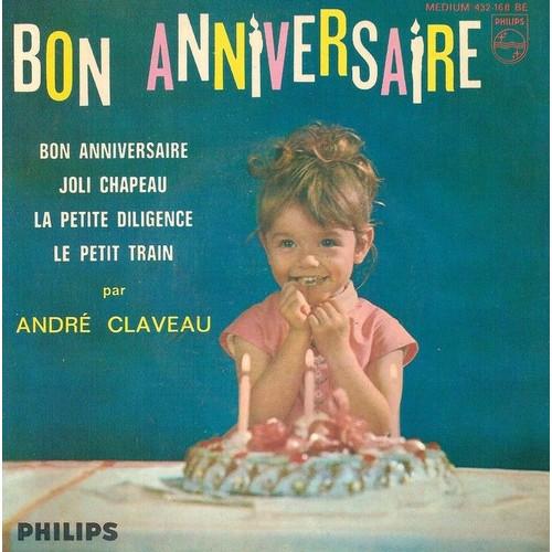 Présentation de Horace Pinker - Page 3 Claveau-Andre-Bon-Anniversaire-45-Tours-698759689_L