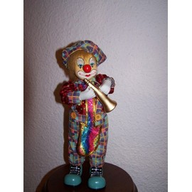 Clown Automate Et Musical - 33cm