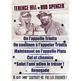 Terence Hill & Bud Spencer - Coffret - On L'appelle Trinita + On Continue � L'appeler Trinita + Maintenant On L'appelle Plata + Cul Et Chemise + Salut L'ami, Adieu Le Tr�sor + Renegade