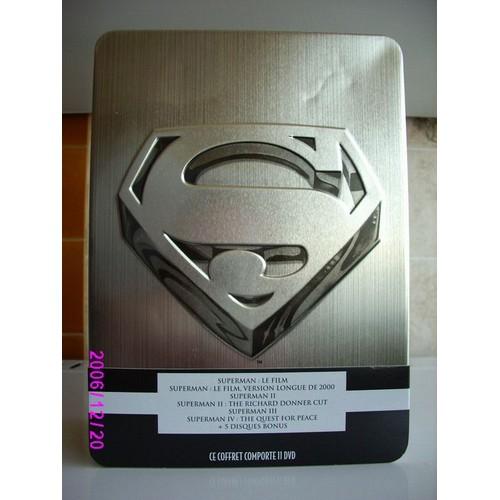 Coffret christopher reeve superman int grale coffret 9 - Code avantage aroma zone frais de port ...