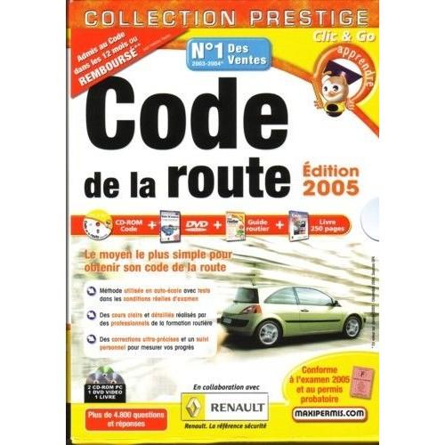 coffret code de la route dition 2005 dvd zone 2. Black Bedroom Furniture Sets. Home Design Ideas