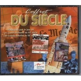 Coffret Du Si�cle 2000 (Gds Mts, Hjj, C.De Gaulle, C. Espace, 68, Gdes Batailles, Atlas Europe)