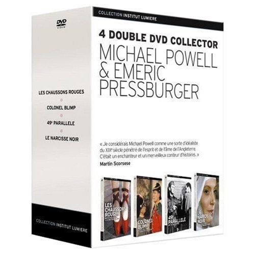 Michael Powell   Emeric Pressburger - Les Chaussons Rouges + Colonel Blimp  + 49e Parallèle + b8e0d2f5d72c