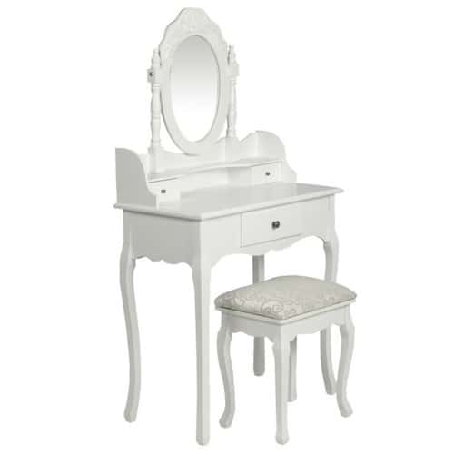 Coiffeuse achat vente neuf d 39 occasion priceminister for Coiffeuse blanche avec miroir