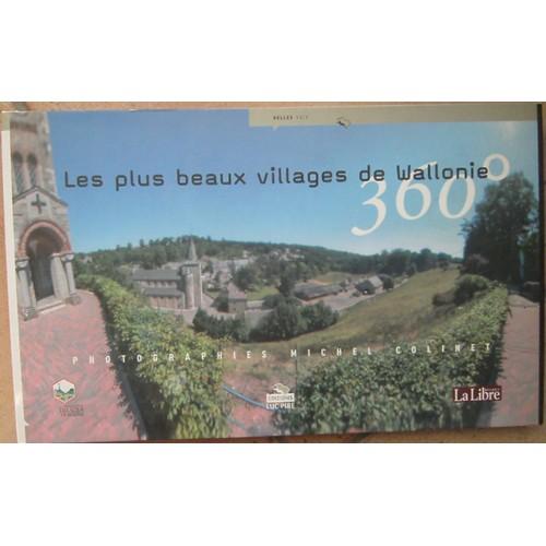 Les plus beaux villages de wallonie 360 de colinet michel for Les plus beaux villages des yvelines