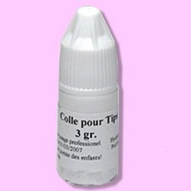 faux ongles colle
