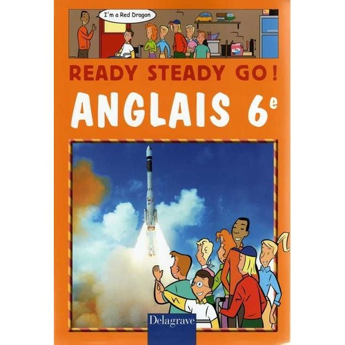 Anglais 6e Eleve Ready Steady Go