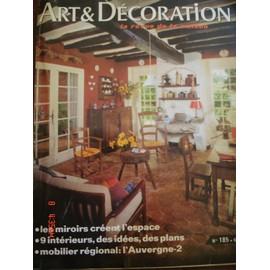 Art & D�coration N� 185 : Les Miroirs Cr�ent L'espace