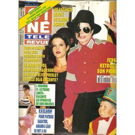 Cover de Dangerous  - Page 2 Collectif-Cine-Tele-Revue-N-9433-Michael-Jackson-Lisa-Marie-Presley-Amanda-Lear-Fergie-Claudia-Schiffer-Grace-Kelly-Revue-623480340_ML