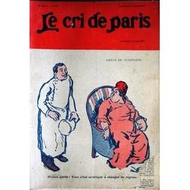 Cri De Paris (Le) N� 907 Du 14/06/1914