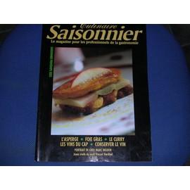 Culinaire saisonnier n 5 portrait de chef marc meurin for Culinaire saisonnier