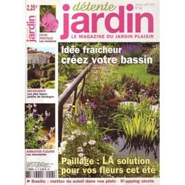 Detente Jardin N 48 Idee Fraicheur Creez Votre Bassin Rakuten