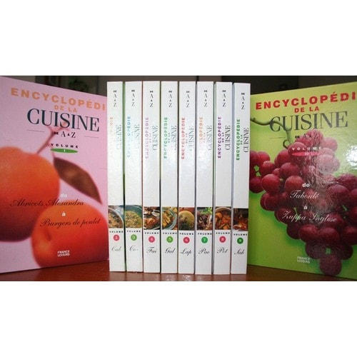 Encyclopedie de la cuisine de a z collection complete - Cuisine de a a z entrees ...