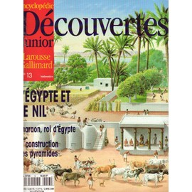 Encyclopedie Decouverte Junior N� 13 : L'egypte Et Le Nil