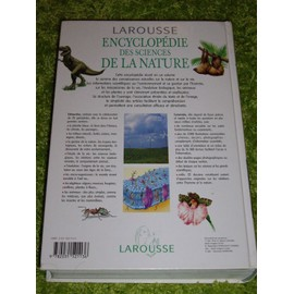 encyclopedie larousse de la nature la planete de la vie