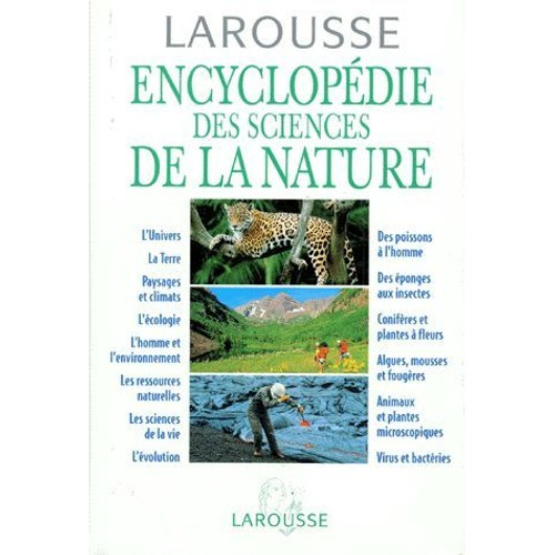 encyclopedie larousse de la nature