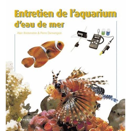 entretien de l 39 aquarium d 39 eau de mer de alain breitenstein rakuten. Black Bedroom Furniture Sets. Home Design Ideas