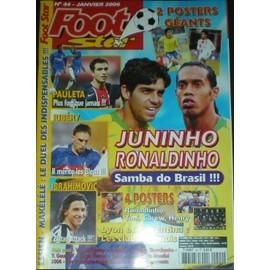 Foot Star N�44 N� 44 : Juninho Ronaldinho Samba Do Brasil!!!