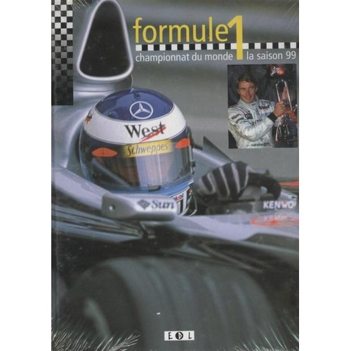formule 1 championnat du monde saison 99 de collectif format beau livre. Black Bedroom Furniture Sets. Home Design Ideas