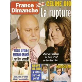 France dimanche n 3098 c line dion georges moustaki for Dujardin herve
