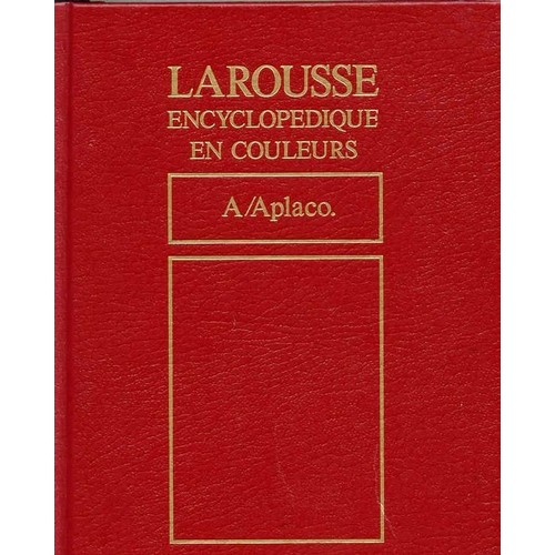 encyclopedie larousse 24 volumes