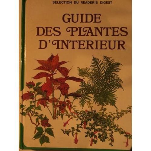 Guide Des Plantes D 39 Int Rieur Livre Achat Vente Neuf
