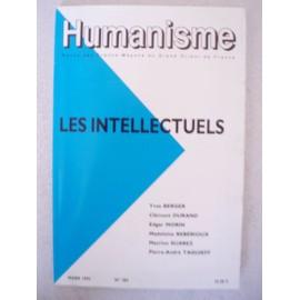 Humanisme - N�203 Mars 1992 Les Intellectuels - Revue Des Francs-Macons Du Grand Orient De France de Collectif