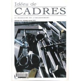 id es de cadres n 25 le magazine de l 39 encadrement rakuten. Black Bedroom Furniture Sets. Home Design Ideas