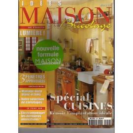 Idées Maison Bricolage N° 159 : Special Cuisines U2026