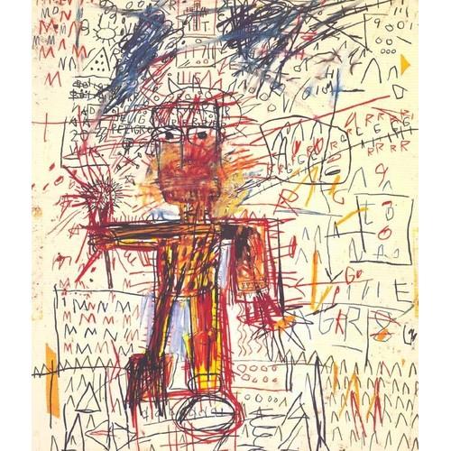 jean michel basquiat oeuvres sur papier exposition paris fondation dina vierny mus e. Black Bedroom Furniture Sets. Home Design Ideas