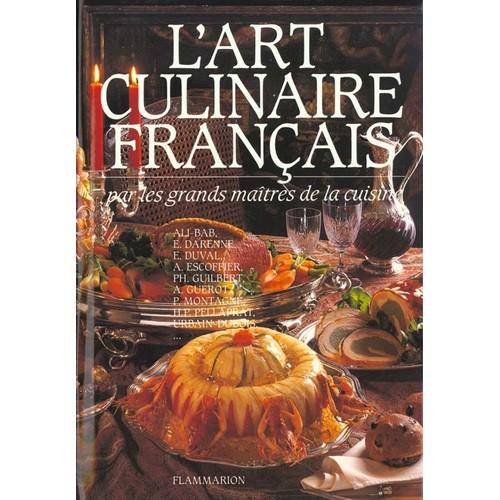 L 39 art culinaire fran ais 3760 recettes de cuisine - Livre de cuisine francaise en anglais ...