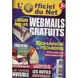 L'officiel Du Net N� 48 - Le Dossier Sur Les Webmails