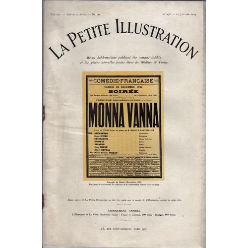 Collectif-La-Petite-Illustration-N-111-Monna-Vanna-Revue-686923500 L.jpg 7de965a04ff7